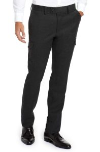 Amir khadirs hugoboss Classic_Fit_Trap_Dress_Pant_by_BOSS_Black_Trap_50228700_0